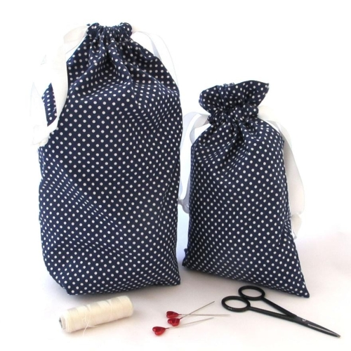 Drawstring Bag Kit Instructions HFL