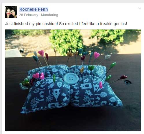 Bonus Project : Pin Pillow