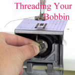 Front Loading Bobbin Case - How to Thread