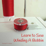 Learn to Sew : Winding A Bobbin ~ Hunting for Ladybugs