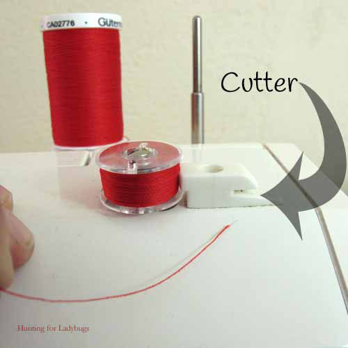 Learn to Sew ~ Winding A Bobbin ~ Hunting for Ladybugs