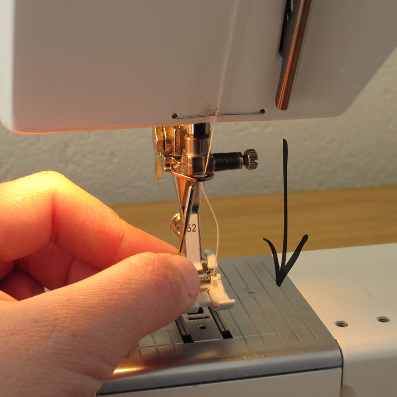 Changing A Sewing Machine Needle - Hunting for Ladybugs