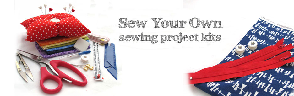 Learn to Sew with My Fabric Kits - mailed to you worldwide