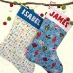 DIY Christmas Stocking Sewing Kit