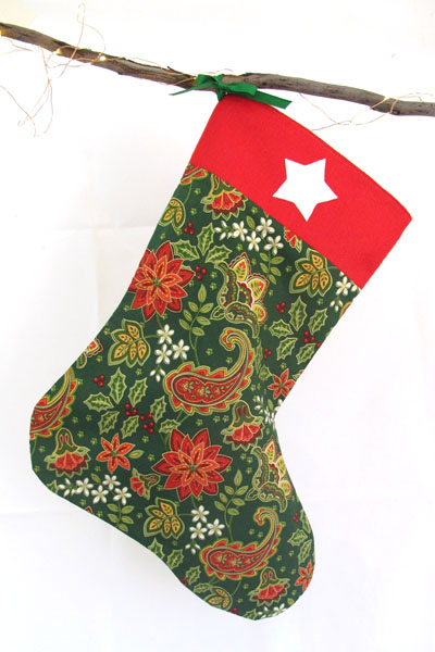 Christmas Stocking Kit.Diy Christmas Stocking Sewing Kit