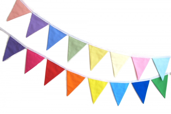 Sew Your Own Bunting Kit - Hunting for Ladybugs