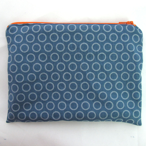 Make Your Own Zip Pouch Sewing Kit - all supplies included - by Hunting for Ladybugs