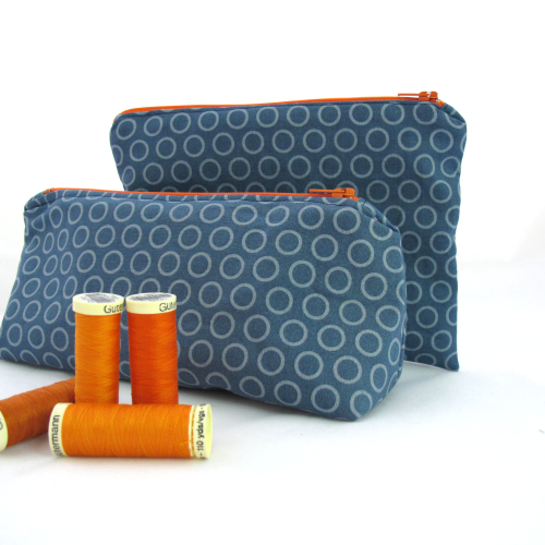 Make Your Own Zipper Pouches - Sewing Kit by Hunting for Ladybugs